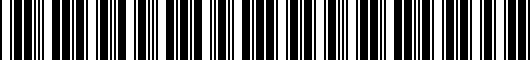 Barcode for 0894248870BB